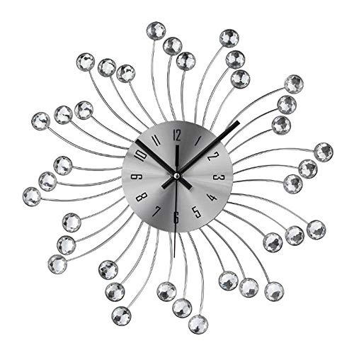 C-J-H La Moda Cristal de Cuentas Pendientes de la joyería del Diamante del Reloj de Pared