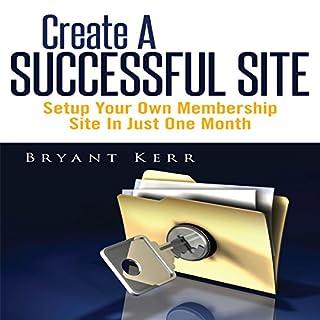 Create a Successful Site audiobook cover art