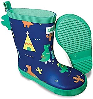 Penny Scallan Kids Gumboots Tall Dino Rock