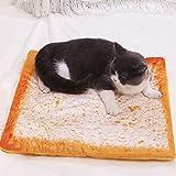 Refill Toastbrot 3D Katzenbett, Hundebett,Haustierbett, Hundematte, im Schlafzimmer, Wohnzimmer und Flur, einfache Reinigung, rutschfest