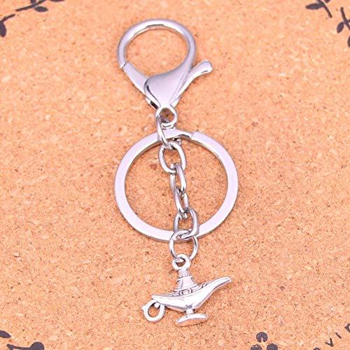 TAOZIAA Creatieve Verchroomde Metalen sleutelhanger voor Beste Gift Gods lantaarn Sleutelhanger Antieke Ailver Hanger