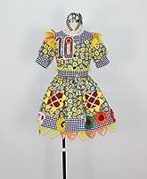 【apple_cos】私立恵比寿中学、夏だぜジョニー 10番 柏木ひなた(かしわぎひなた) コスプレ衣装 女性S