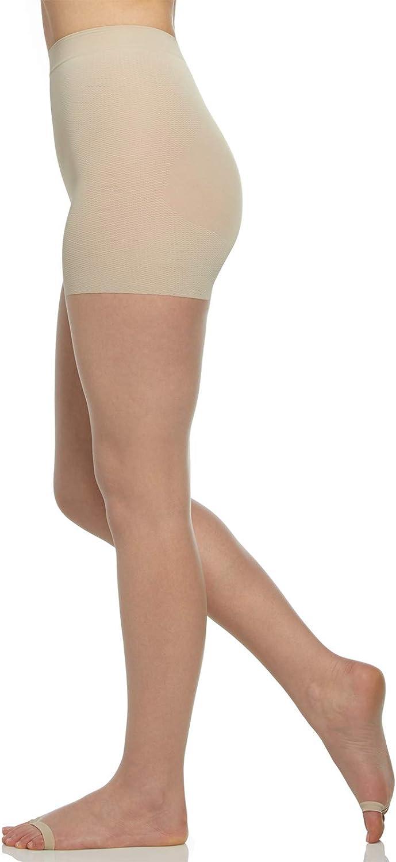 Berkshire Women's The Easy On! Luxe Ultra Nude Open Toe Premium Pantyhose