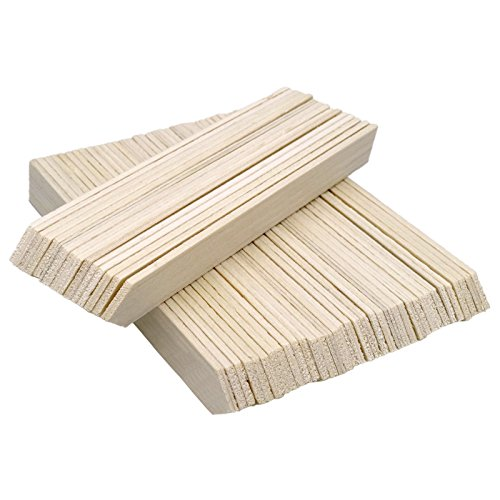 KINGLAKE 25 Pcs 9.5' Large Wood Plant Label Garden Stake Tags for Containers