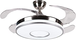 42 Inch Invisible Fan Light, SAM Modern Ceiling Fan with...