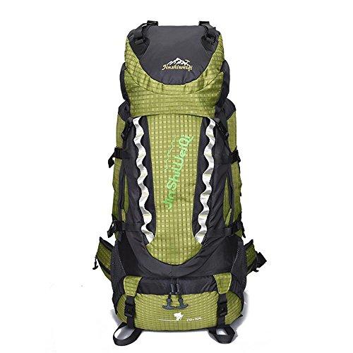 Docooler 70L Trekking Zaino Outdoor,Borsa Zaino Unisex da Spalla Outdoor Campeggio Escursionismo Viaggio 70+10L