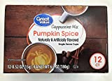 Great Value Pumpkin Spice Cappuccino Mix Single Serve Cups 12 ct, Pack of 1