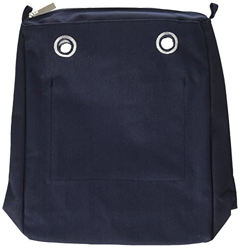 O bag Sacca Chic, Borsa a mano Donna, Blu (Blu Navy), 29x33x10.5 cm (W x H x L)