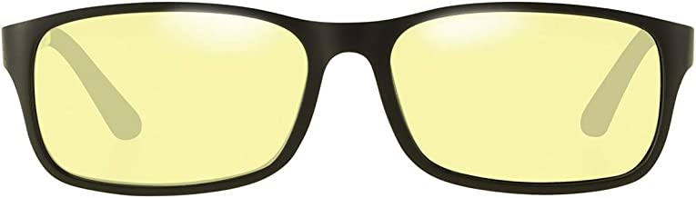 DUCO Unisex Blue Light Blocking Glasses for Computer Use Anti Blue Ray Eyeglasses DC223 (Transparent)