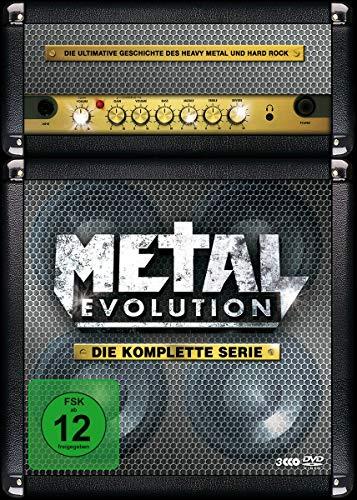 Metal Evolution - Die komplette Serie (3 Discs, OmU) Alemani
