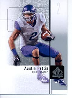 2011 SP Authentic Football Cards #15 Austin Pettis RC - Boise State Broncos (RC - Rookie Card) St. Louis Rams (NFL Trading Card)