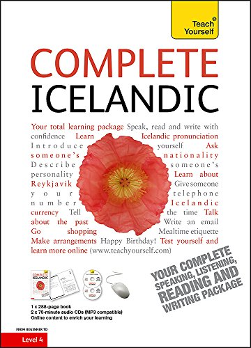 Compare Textbook Prices for Complete Icelandic Beginner to Intermediate Course: Book and audio support Learn to read, write, speak and understand a new language Teach Yourself 1 Edition ISBN 9781444105377 by Jonsottir, Hildur