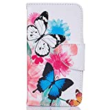 iPhone X Flip Case, Cover for Leather Wallet Cover Kickstand...
