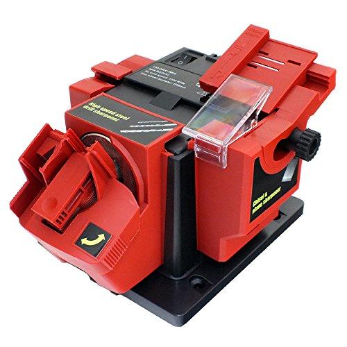 Voche 96W Electric Multi Purpose Bench Mountable Drill Bit, Knife, Scissor and Chisel Sharpener