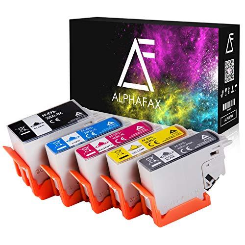 Alphafax 5 Tintenpatronen kompatibel für Epson 202XL Expression Premium XP-6000 Epson Expression Premium XP-6005