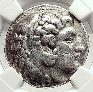 1000 GR Philip III Macedonia AR Greek Tetradrachm Coin AL Tetradrachm VF NGC