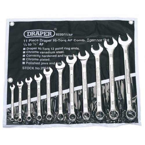 32pc Piece Combination wrench set Imperial Metric Spanner Tools SAE Polished