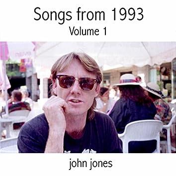 Songs of 1993, Vol. 1