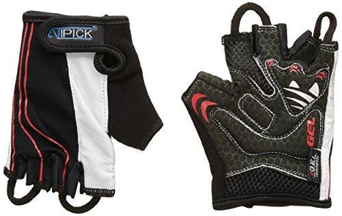 ATIPICK - Stripe - GTC1037 - Gants de Boxe - Unisex - Taille: S - Noir/Rouge/Blanc