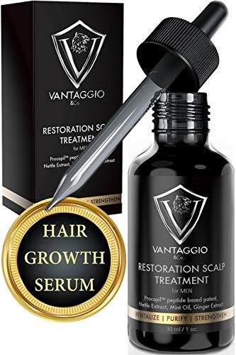Hair Growth Serum and Scalp Treatment - Hair Loss Treatments for Men...