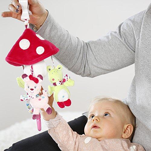 Babysun Mobile Musical Bébé pour Berceau Sleeping Forest, dès la Naissance