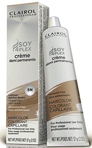 Premium Creme Demi Hair Color 5N Lightest Neutral Brown by Clairol by Clairol