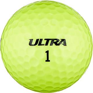 Wilson Staff, Zachte 2-delige golfballen voor grote afstanden, verpakking van 15 stuks, zachte ionomeerhoes, Velocity, wit