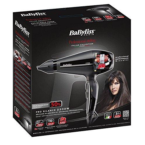 BaByliss Paris - 6611E - Sèche-cheveux Pro Silence...