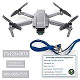 Mavic Air 2 - DJI - FAA Drone Labels (3 Sets of 3) + FAA UAS...