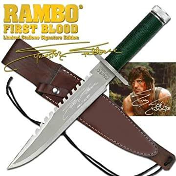 Rambo First Blood Messer