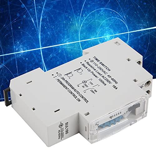 Interruptor temporizador, duradero, liviano, resistente al desgaste Interruptor temporizador SUL180 Interruptor temporizador automático de 24 horas Seguro para controlar cualquier equipo