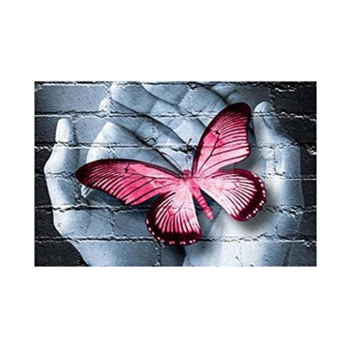 kowaku 5D Mariposa Palma Bricolaje Completo Diamantes Bordado Pintura Arte Hogar Pared Decoración