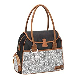 Features a lot of accessories: Insulated bag, changing mat, transparent pocket, souther pouch, pushchair clips, outer pockets Wide opening Very handy and comfy thanks to the shoulder strap Contemporary shape Available in different colours Lifetime wa...
