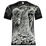 Rock Eagle T-Shirt Rock Chang Heavy Metal Biker Tattoo Rocker Gothic (S - XXXL) (XXXL, 4004)