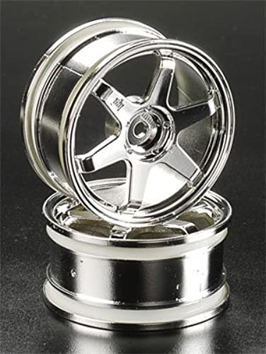 HPI Racing Te37 Wheel 26mm Chrome 0mm Offset (2) by HPI Racing
