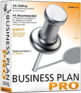 Palo Alto Business Plan Pro 2006