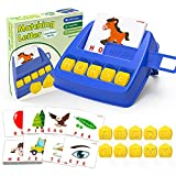 LIORQUE Matching Letter Game for Kids, Alphabet Reading Spelling Games, Educational Toys for...
