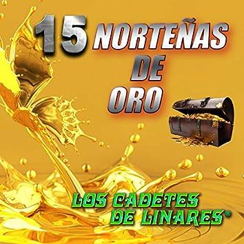 15 Norteñas De Oro
