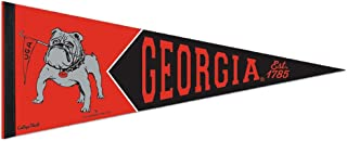 WinCraft Georgia Bulldogs Official NCAA 12 inch x 30 inch Premium Pennant 989963