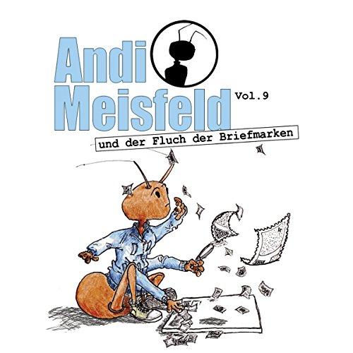 Andi Meisfeld und der Fluch der Briefmarken Titelbild
