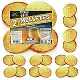 10 x Molletes XXL de Pan SiempreTierno 100 grs (1000 grs total) · Dura hasta 88 dias sin necesitad...