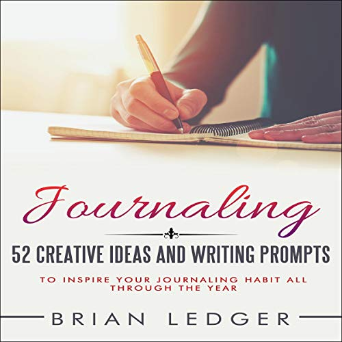 Journaling audiobook cover art
