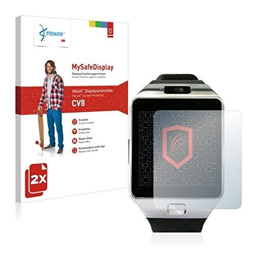 2x Vikuiti MySafeDisplay CV8 Displayschutz Schutzfolie für Yuntab SW01 (Ultraklar, strak haftend, versiegelt Kratzer)