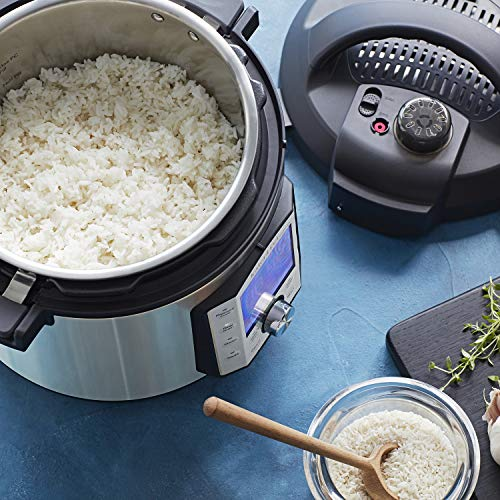 Instant Pot Duo Evo Plus 9-in-1 Electric Pressure Cooker, Sterilizer, Slow Cooker, Rice Cooker, Grain Maker, Steamer, Sauté, Yogurt Maker, Sous Vide, Bake, and Warmer, 6 Quart, 10 Programs