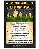 AZSTEEL A Few Facts About The Viet-NAM Wall Vertical Poster