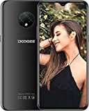 Moviles Libres, DOOGEE X95 Smartphone Libre 2020, 6.52 Pulgadas 19.5:9 HD+ Pantalla 4G Telefonos, 4350mAh, 13MP+2MP+2MP+5MP, Android 10.0 Smartphone, 16GB ROM,128GB SD, Dual SIM Face ID, Negro