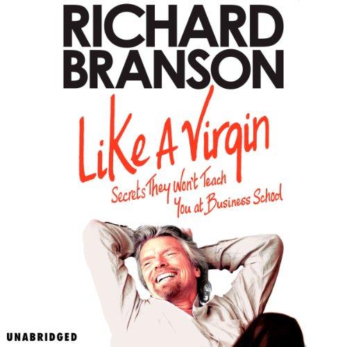 Like a Virgin audiobook cover art