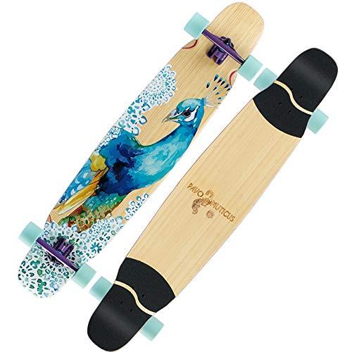 Best Buy! WANG Standard Skateboards Skateboard Freestyle Longboard Skateboard 48x9.5 Maple Deck Pr...