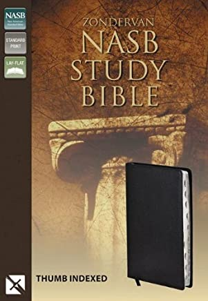 Zondervan Nasb Study Bible: Study Bible Bonded Leather