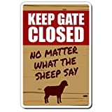 """Sign Size: 10"""" X 14"""" Aluminum Perfect Gift – Good for decorating a work space or hanging in a den, this novelty sign makes a great gift for anyone Quick & Easy Mount – Comes with pre-cut mounting holes for hanging Indoor/Outdoor Use – Printed with ul..."""